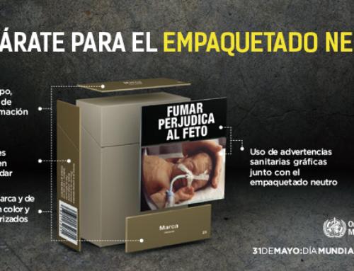Día Mundial Sin Tabaco 2016. Prepárate para el empaquetado neutro